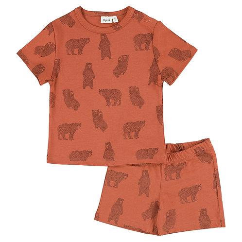 Trixie letné pyžamo Brave Bear
