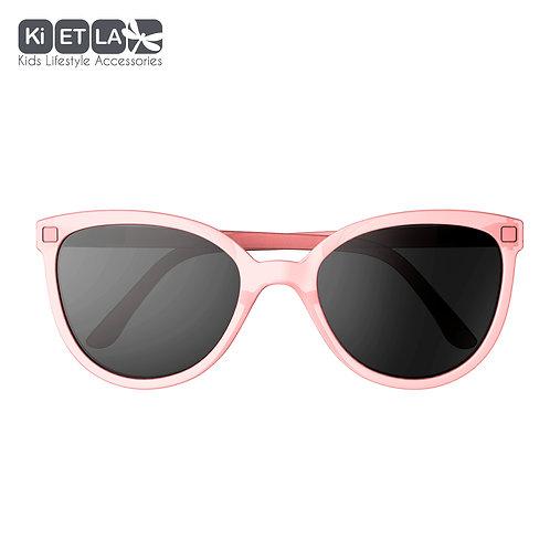 KiETLA CraZyg-Zag slnečné okuliare BuZZ 6-9 rokov - pink