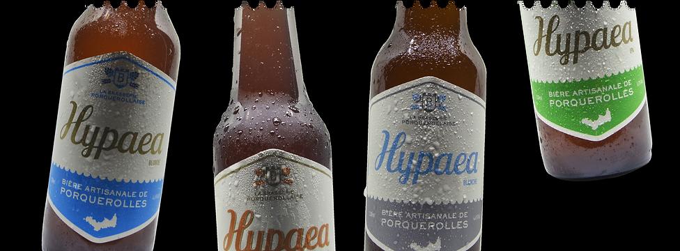 Les bières de Porquerolles - Hypaea