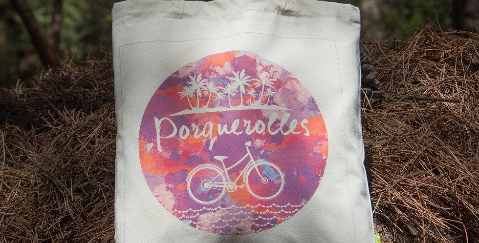Sac Cabas - Tote Bag en Coton Bio - Le Vélo