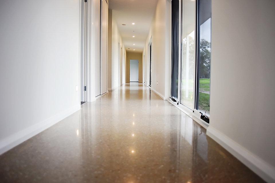 Polished Concrete - Hallway