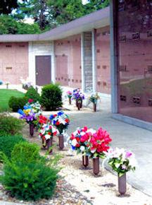 Garden Crypt Bronze Vase Unit