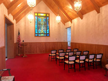 Twin Valley Mausoleum Chapel for funeral services