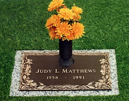 Misty Dogwood Individual Bronze Memorial, Twin Valley Memorial Park