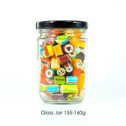 Glass Jar 155-160g