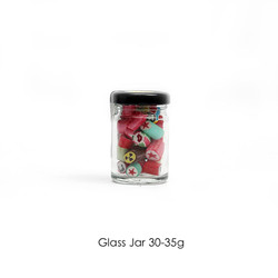 Glass Jar 30-35g