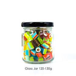 Glass Jar 120-130g