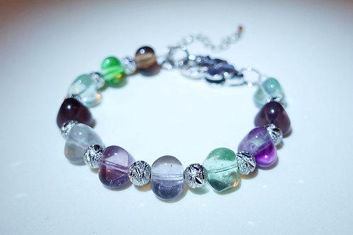 Handmade Fluorite Bracelet