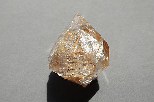 赫基蒙鑽石(閃靈鑽)原石標本#10/資料庫水晶