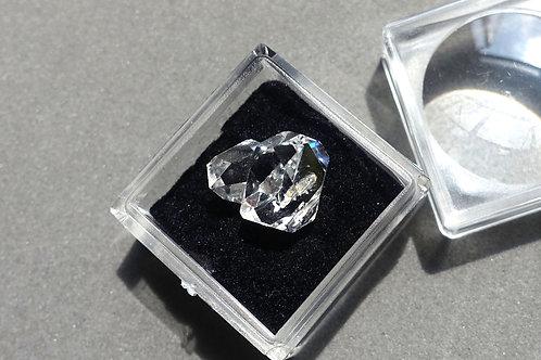 赫基蒙鑽石(閃靈鑽)雙晶#4