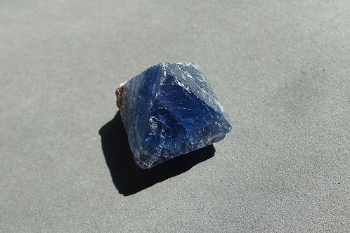 藍色螢石單晶2
