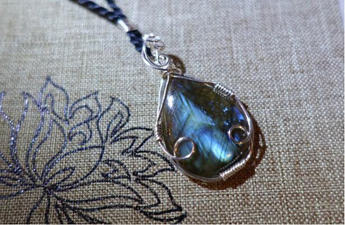 Handmade Labradorite Necklace
