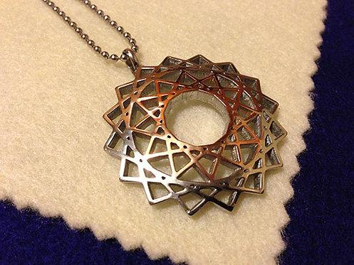 創造力量符號頸鏈(雙色)