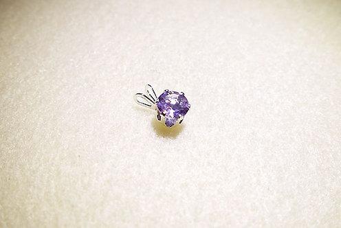 誕生石系列:2月誕生石 - 紫水晶吊飾