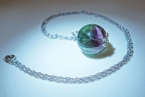 Handmade Fluorite Necklace