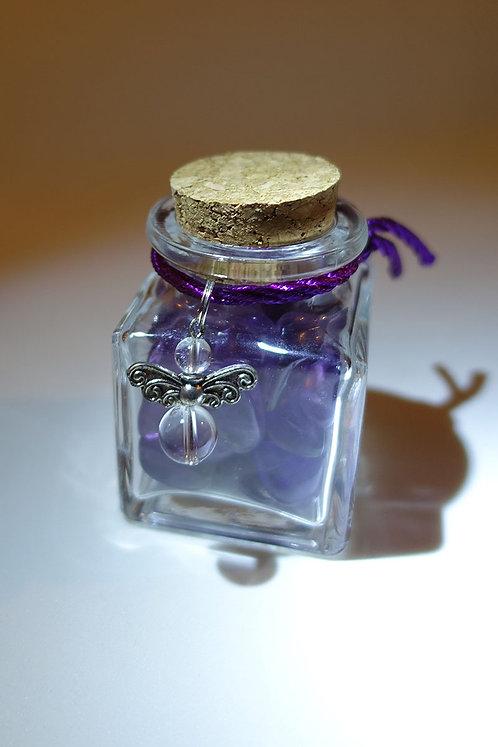 紫晶智慧許願瓶