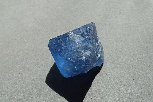 藍色螢石單晶1