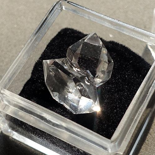 赫基蒙鑽石(閃靈鑽)雙晶#2