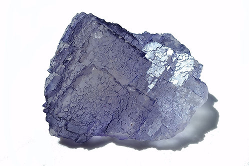 紫色蝕刻螢石晶簇