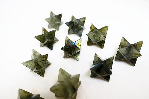 拉長石梅爾卡巴晶體