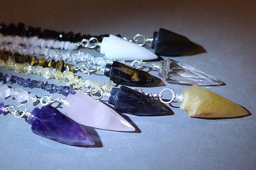 晶石碎石靈擺/手鍊