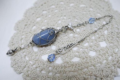 Handmade Angelite Pendulum
