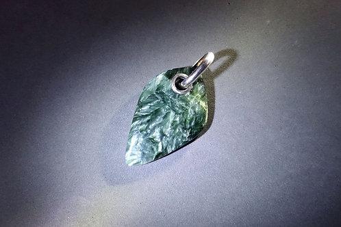 綠龍晶銀吊墜4