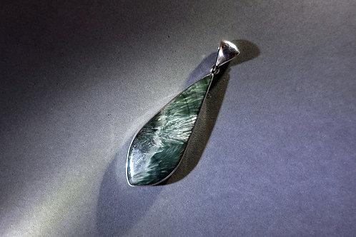 綠龍晶銀吊墜2