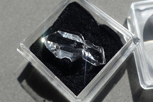 赫基蒙鑽石(閃靈鑽)雙晶#3
