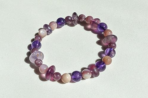 Purple Symphony Bracelet