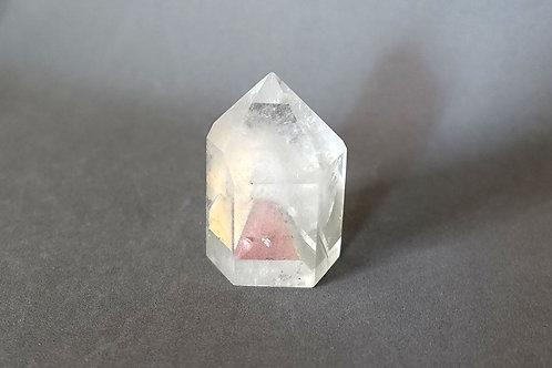 三色幽靈金字塔水晶