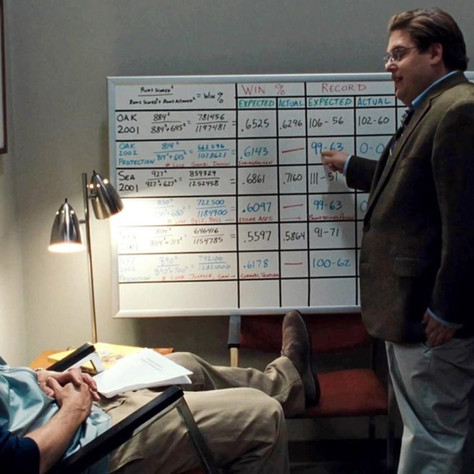 Moneyball and Mythology: Beyond the Analytics... An American's Perspective.