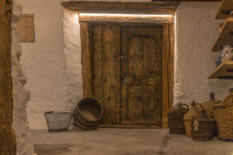 Eingang Degustationsraum