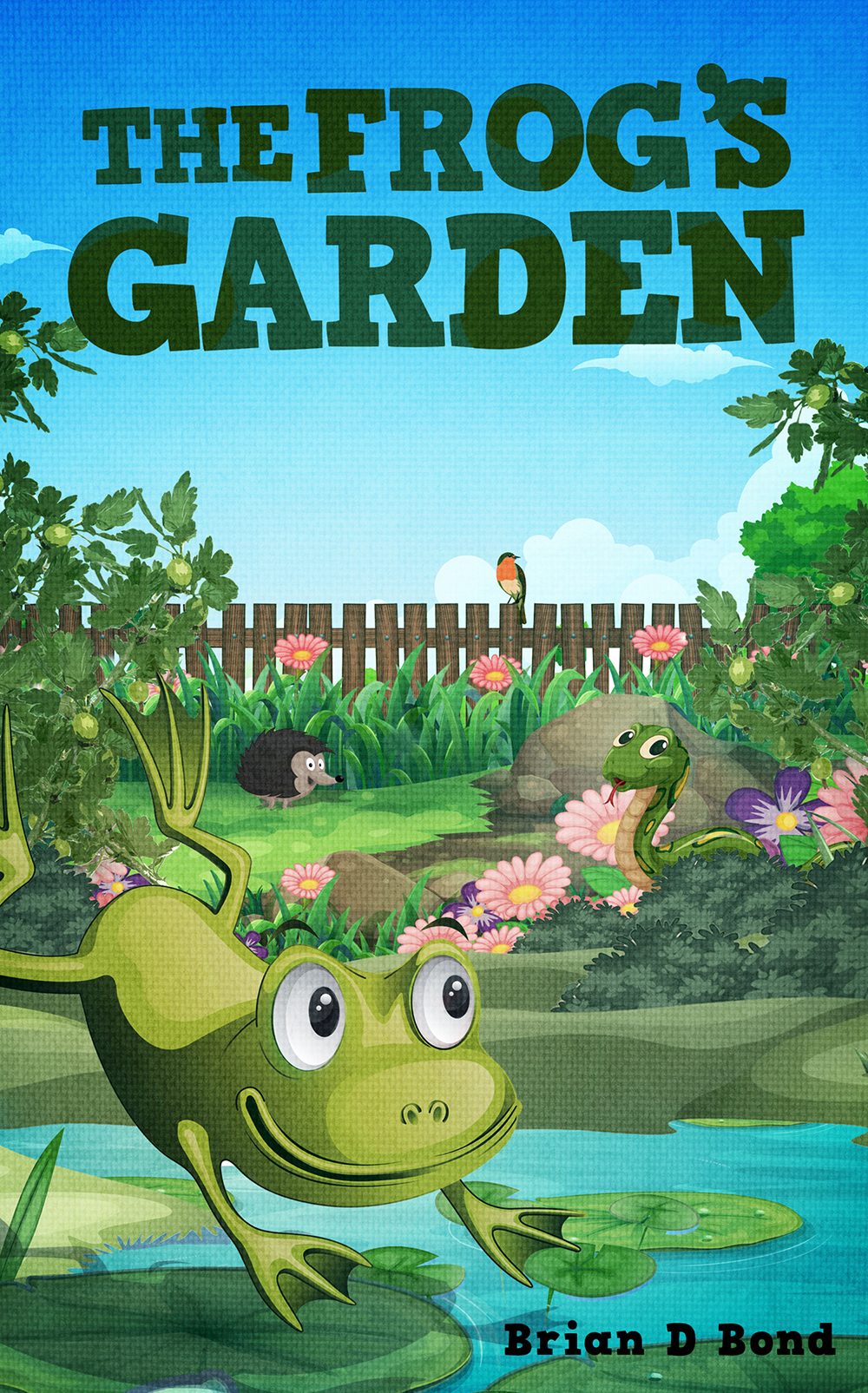 The Frogs Garden (Small)