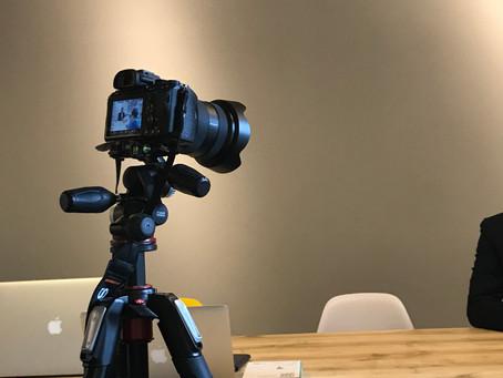 【営業日記】「西つー」撮影隊がIDECOLABOにきたー - 西宮市のコワーキングスペースIDECOLABO -