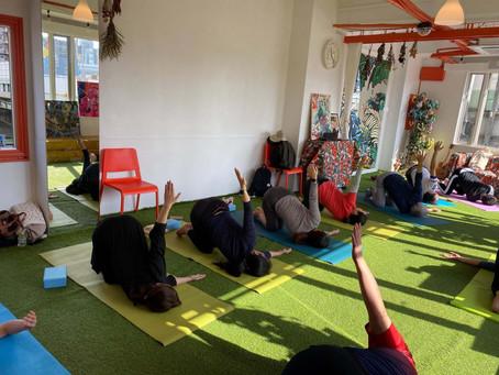 【お友達のご紹介】Satsuki yoga・ヨガしてきました!運動不足を解消したい方はこちらへ - 西宮市のコワーキングスペースIDECOLABO -