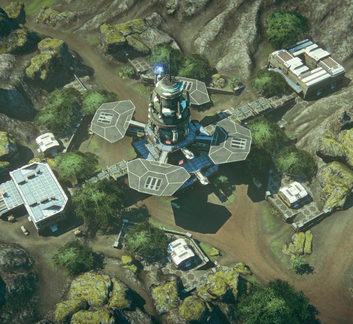 Granite Valley Aerial