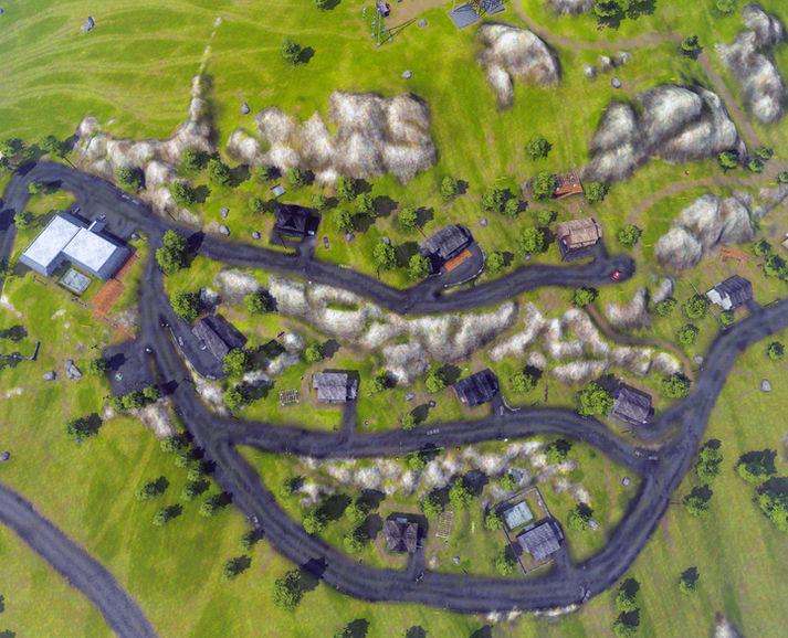Hillside Villas, Birdseye