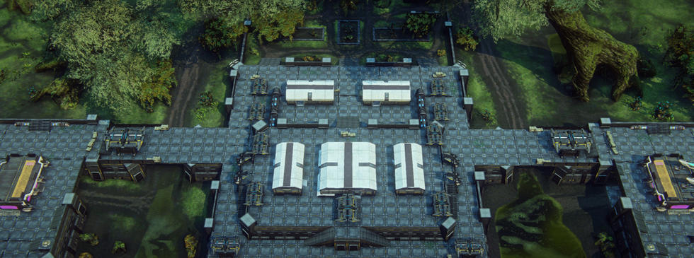 Ziggurat Main Structure, Second Revision