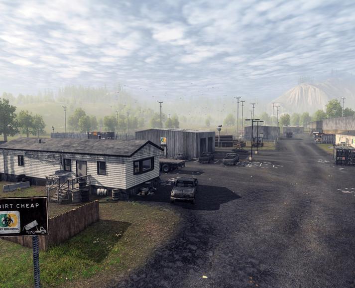 Dirty Deeds Office/Storage Yard Area