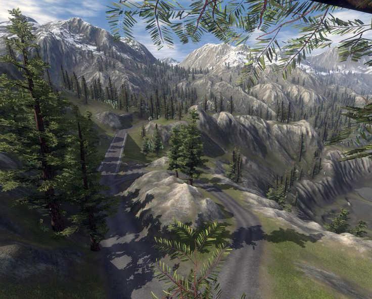 Wynn Lake Pass, Bridge and Overlook