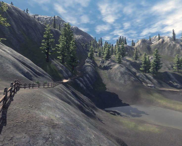 Wynn Lake Pass, Lakeside Trail