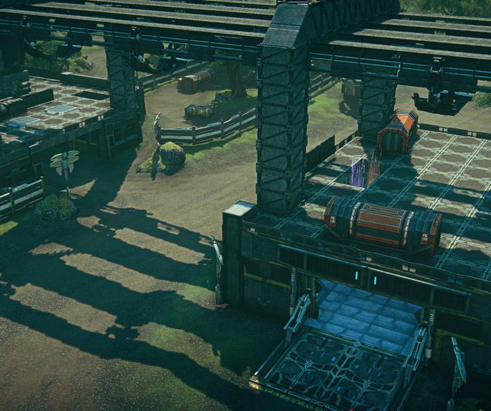Main Cargo Bay / Attacker Garage