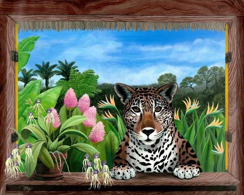 Jaguar at My Casita