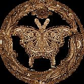 Butterfly & Ouroboros logo - Savanna Redman - Amanda J. Wilde series