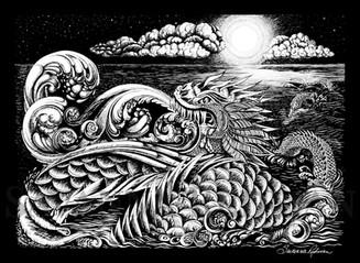 Sea Dragon - At Night