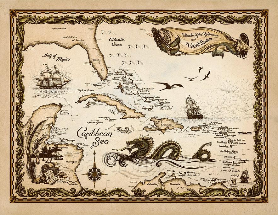 hand-drawn-map-caribbean_savanna-redman.