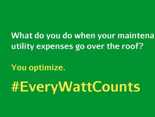 Every Watt Counts