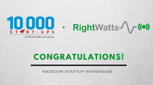 RightWatts - Now a member of NASSCOM community!