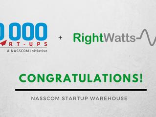 RightWatts - Now a member of NASSCOM community!